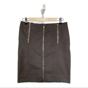MARC by MARC JACOBS Zipper Skirt Olive Size 4